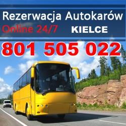 Przewozy autokarowe Kielce