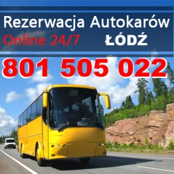 Przewozy autokarowe Łódź