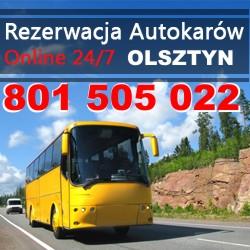 Przewozy autokarowe Olsztyn
